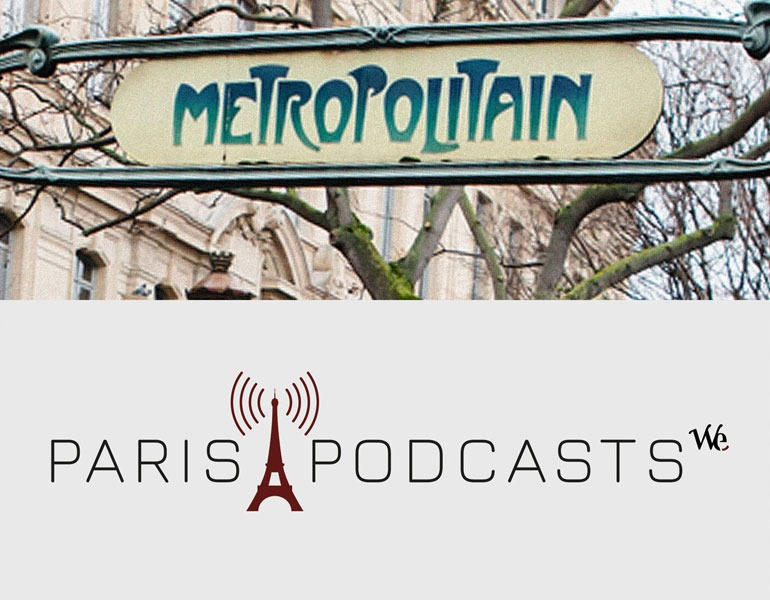 Paris Podcast Logo